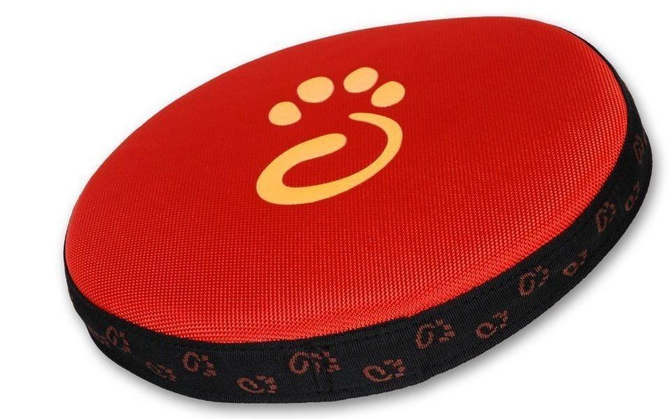 Frisbee cățel Disc iMK roșu.