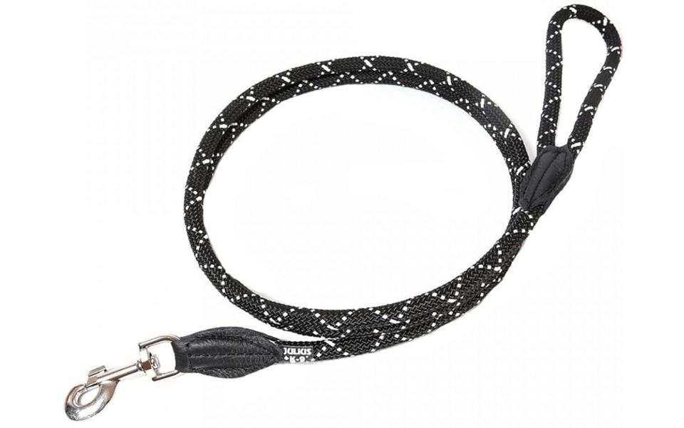 Lesă pentru câini Julius K9 neagră.