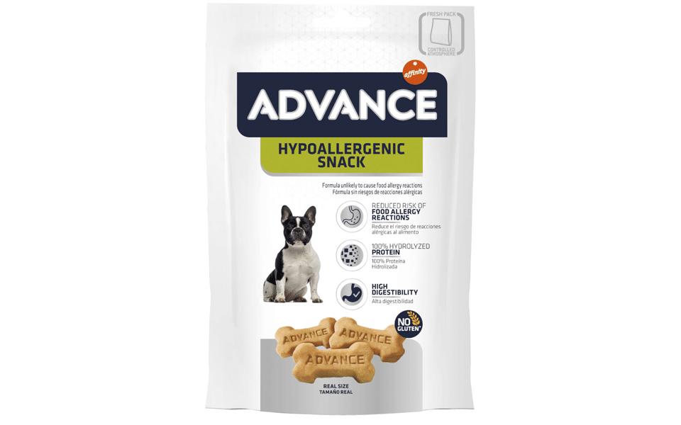 Pungă cu recompense pentru câine Advance Snack Dog Hipoalergenic.
