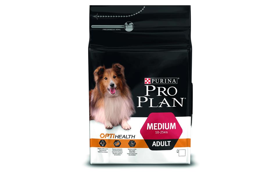 Sac cu mâncare de câine Pro Plan Medium Adult