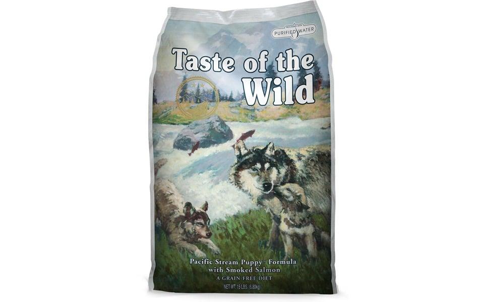 Pungă de mâncare pentru căței Taste of the wild.
