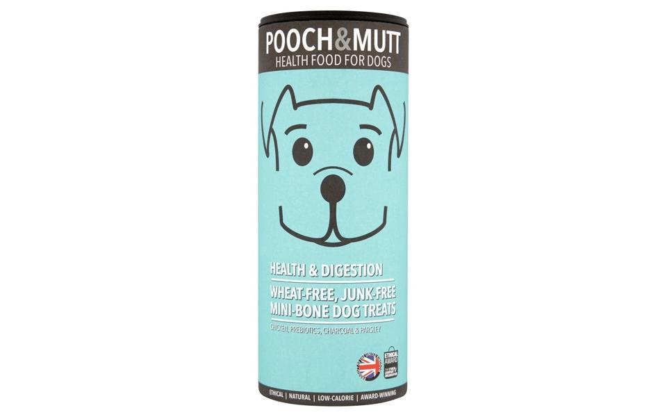 Cutie recompensă pentru cățel Pooch & Mutt Health & Digestion.