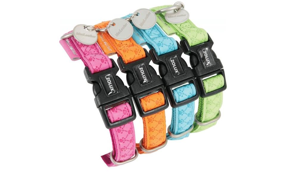 Zgardă pentru cățel Macleather diferite culori.
