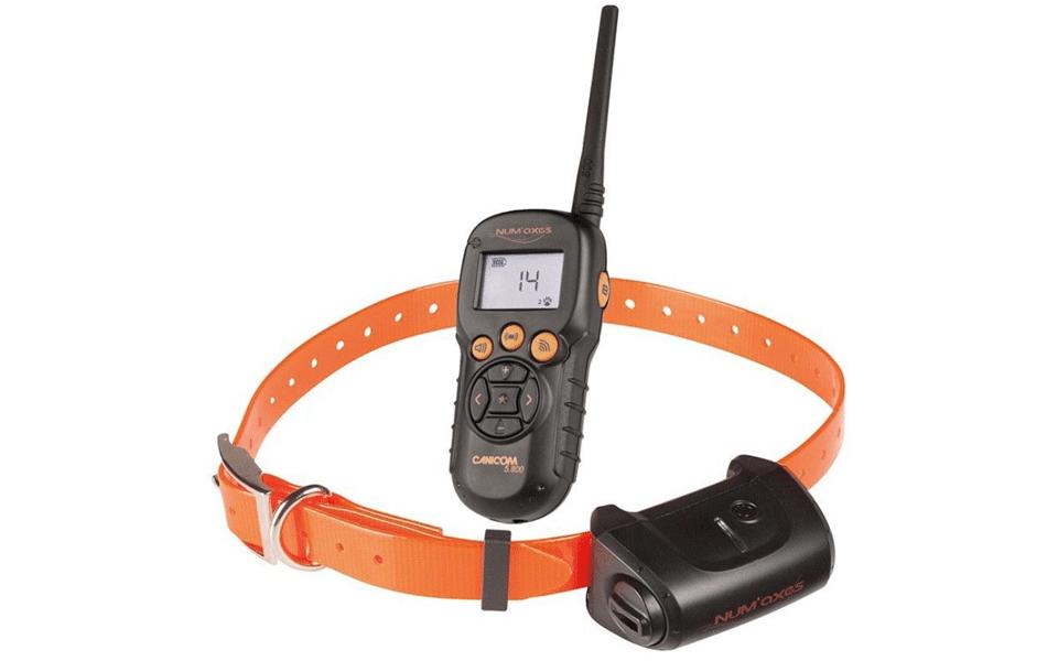 Telecomandă și zgardă de dresaj pentru câini Canicom 5.800.