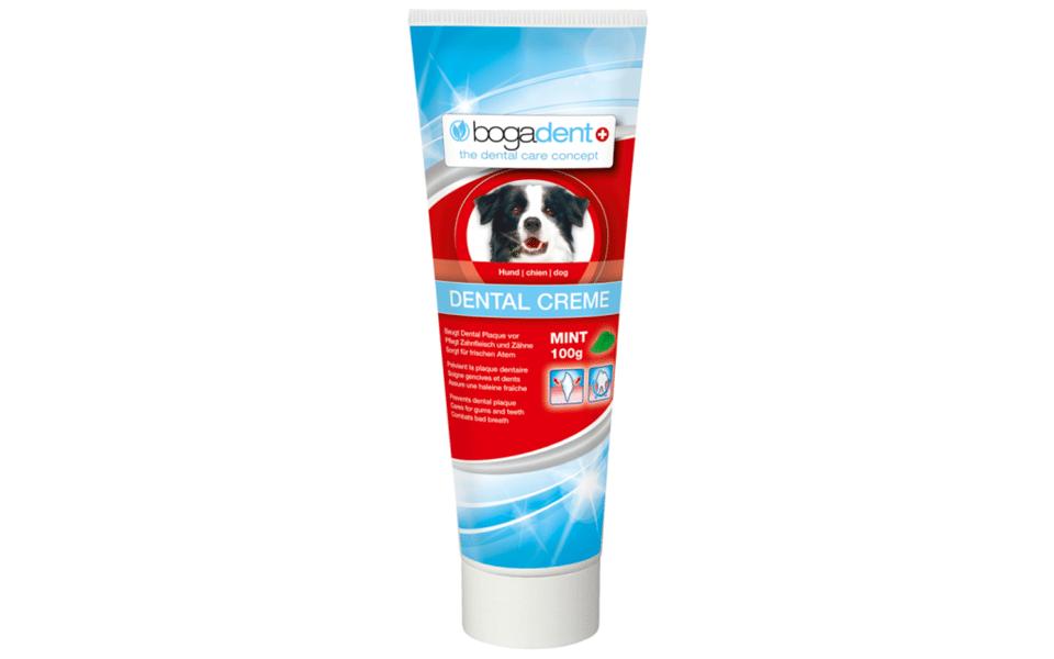 Pastă dinți pentru câini Bogadent.