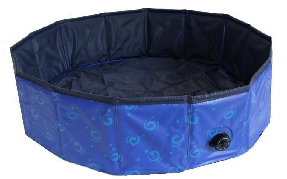Piscină pentru câini Beeztees albastră.