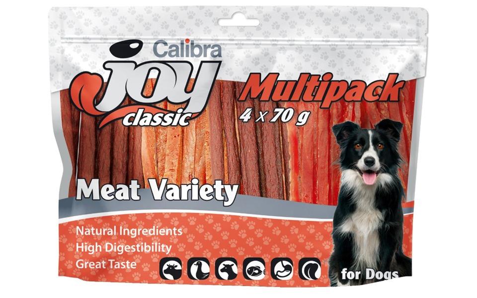 Recompense pentru căței Calibra Joy Meat Variety Mix.
