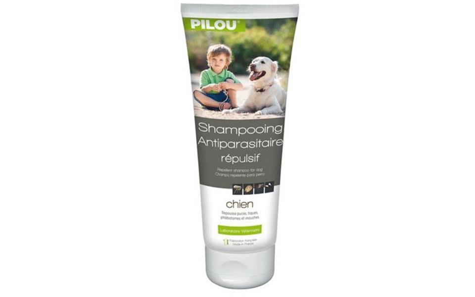 Șampon anti purici pentru câini Pilou.
