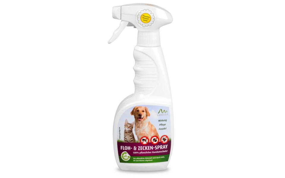 Spray împotriva puricilor și căpușelor Floh & Zecken.