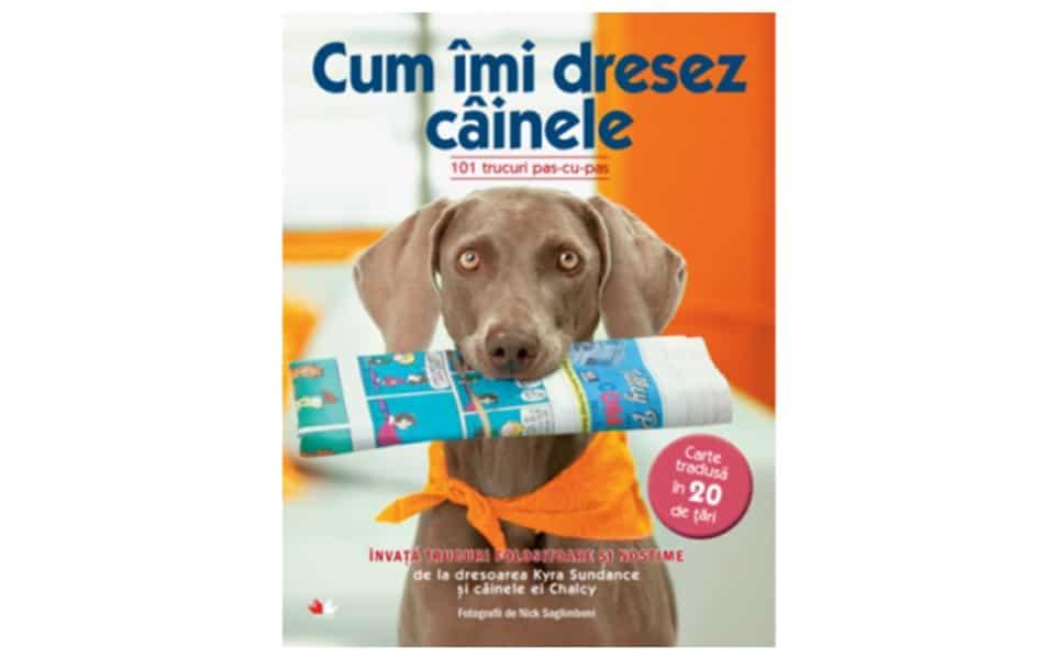 Carte dresaj câini Cum îmi dresez câinele - 101 trucuri pas cu pas.
