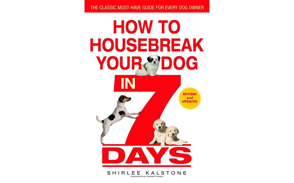 Carte dresaj câini How to Housebreak Your Dog in 7 Days.