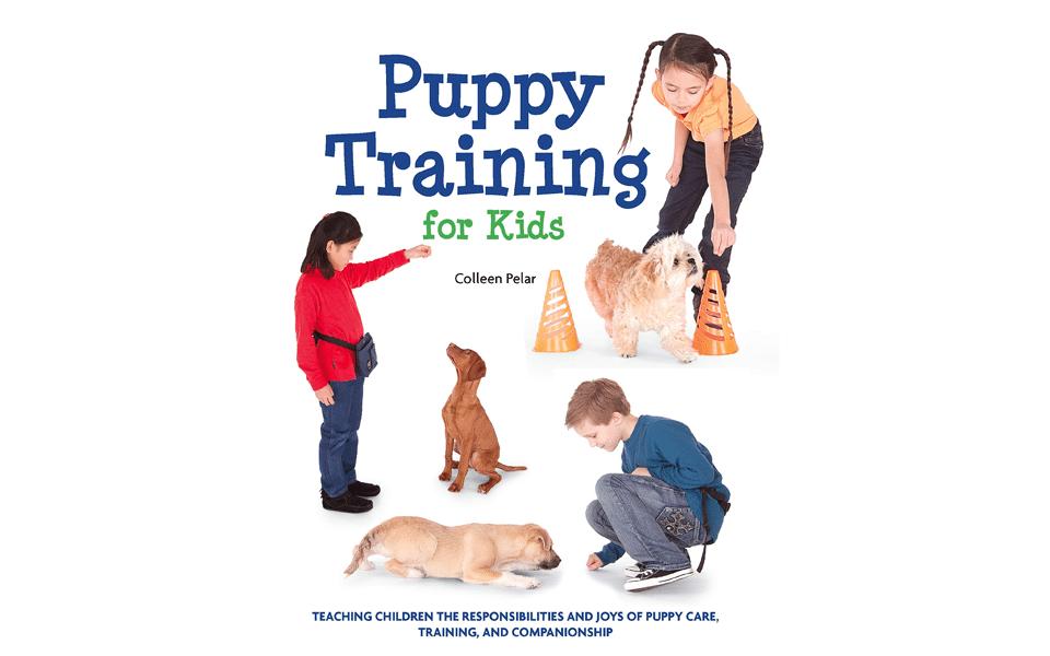 Carte dresaj câini Puppy Training For Kids.