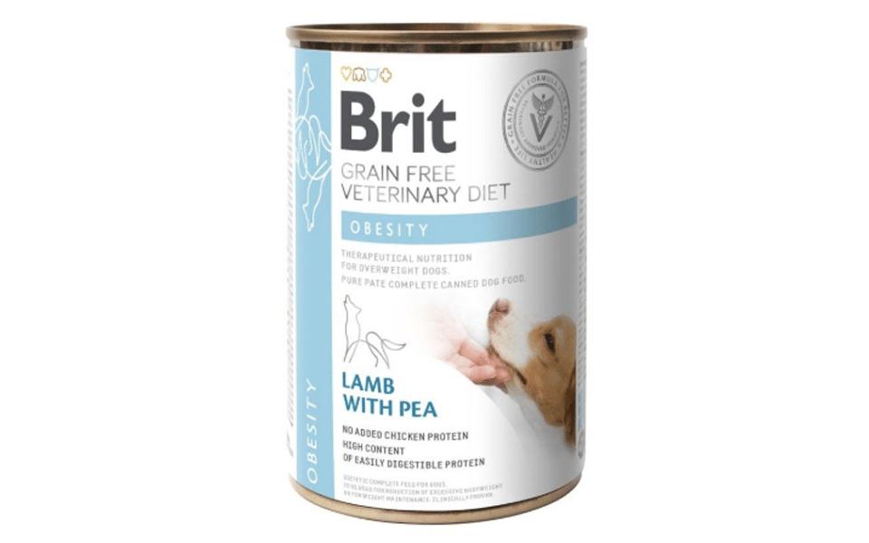 Conserva cu mancare pentru caini Brit Obesity.