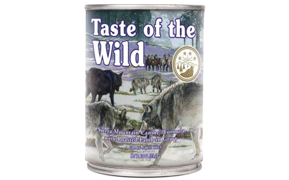 Conserva mancare pentru caini Wild Sierra Mountain.