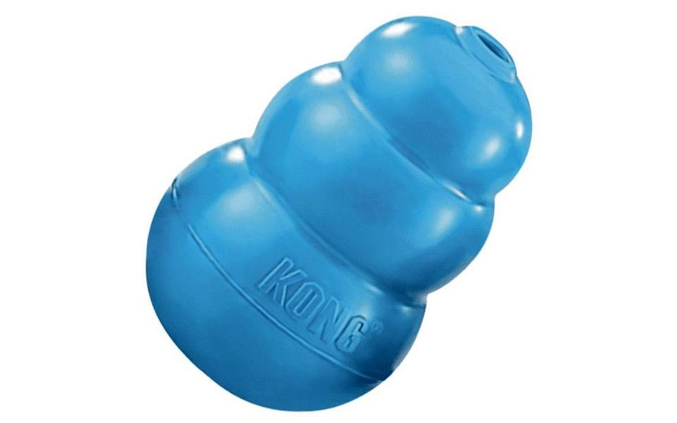 Jucarie pentru catel Kong albastra.