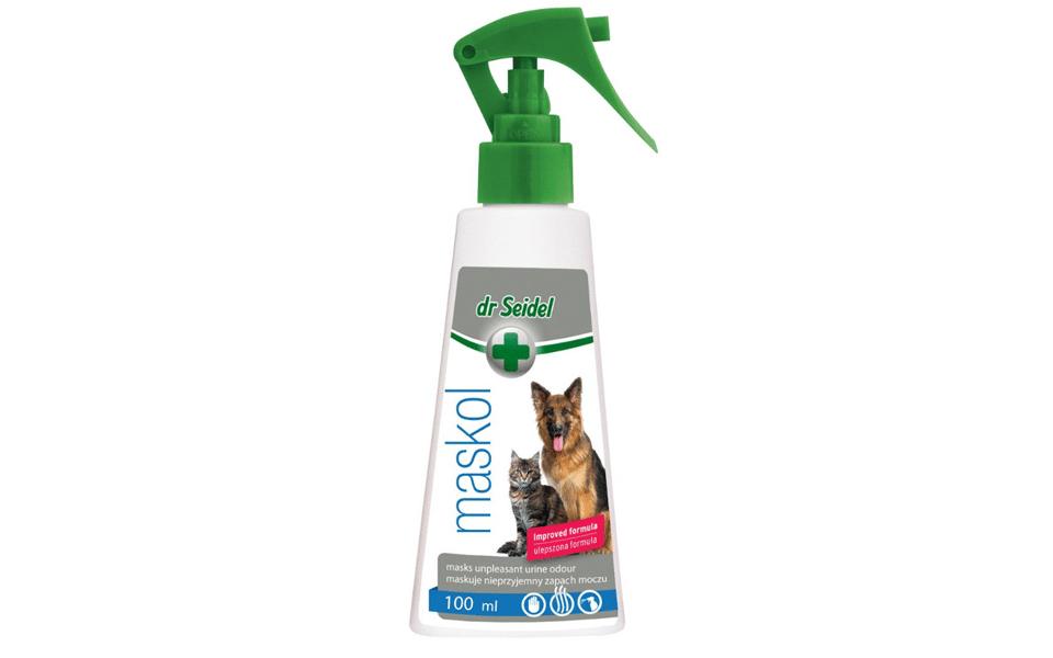 Solutie pentru neutralizarea mirosurilor de animale, Dr. Seidel, Maskol.