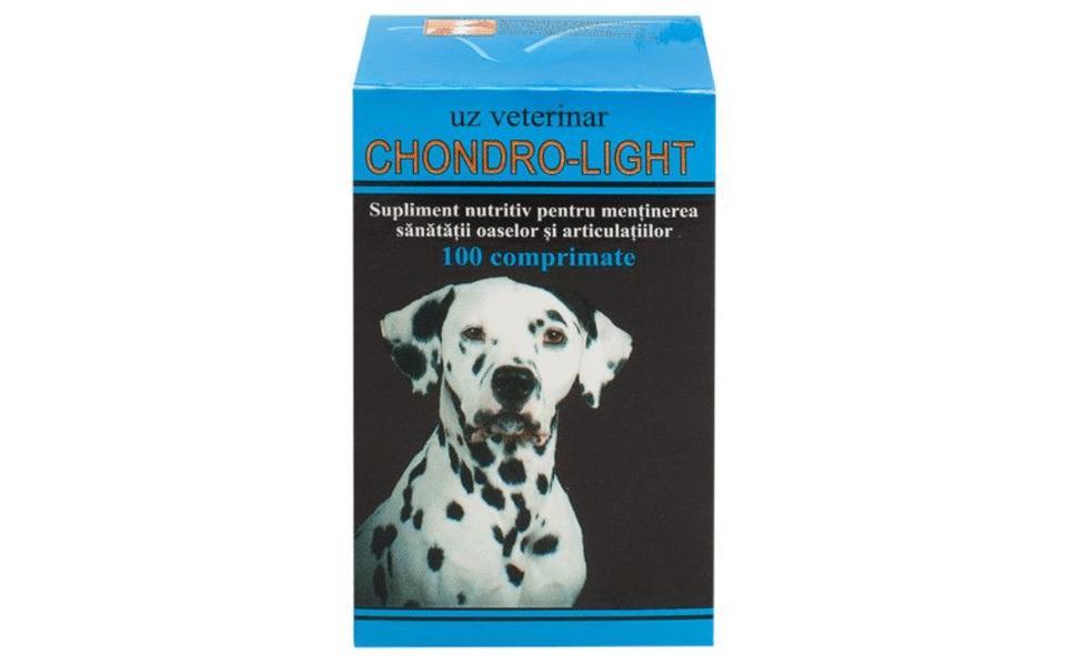 Cutie de supliment cu glucozamină Chondro Light.