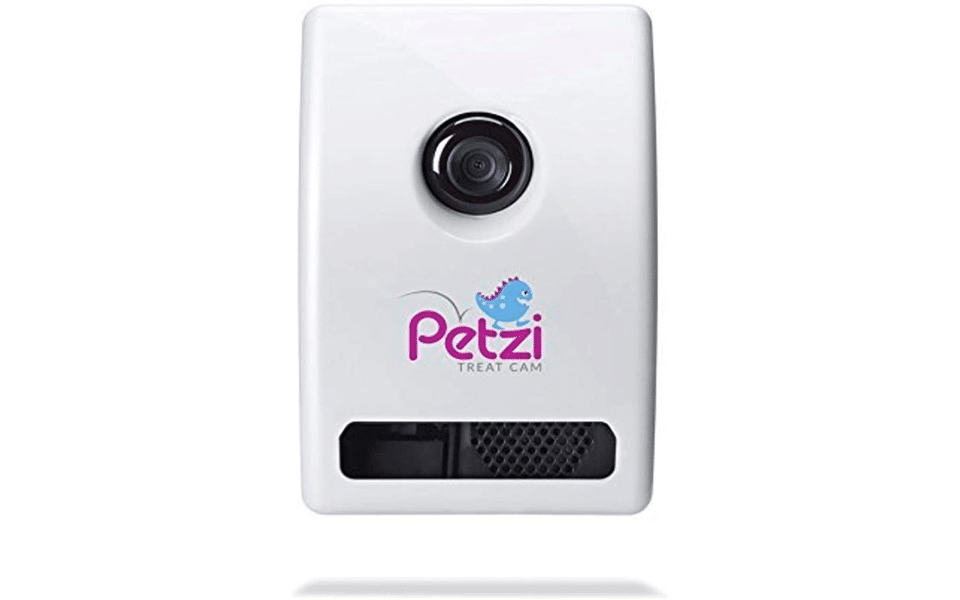 Camera cu dispenser mancare pentru pisici Petzi.