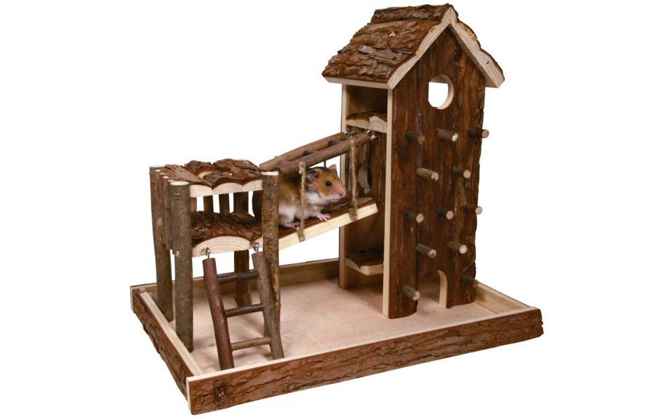 Ansamblu de joaca pentru hamsteri.