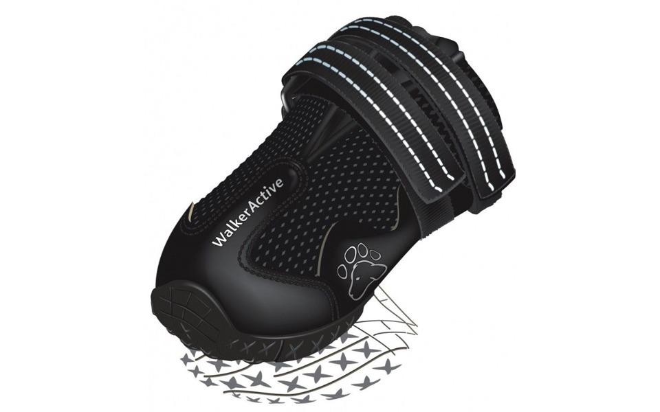 Pantof pentru caini negru Trixie Walker Active