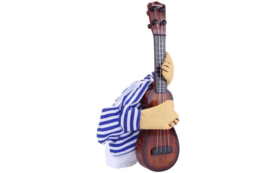 Costum chitarist pentru catei.