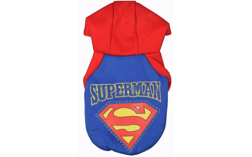 Costum pentru catei Superman.
