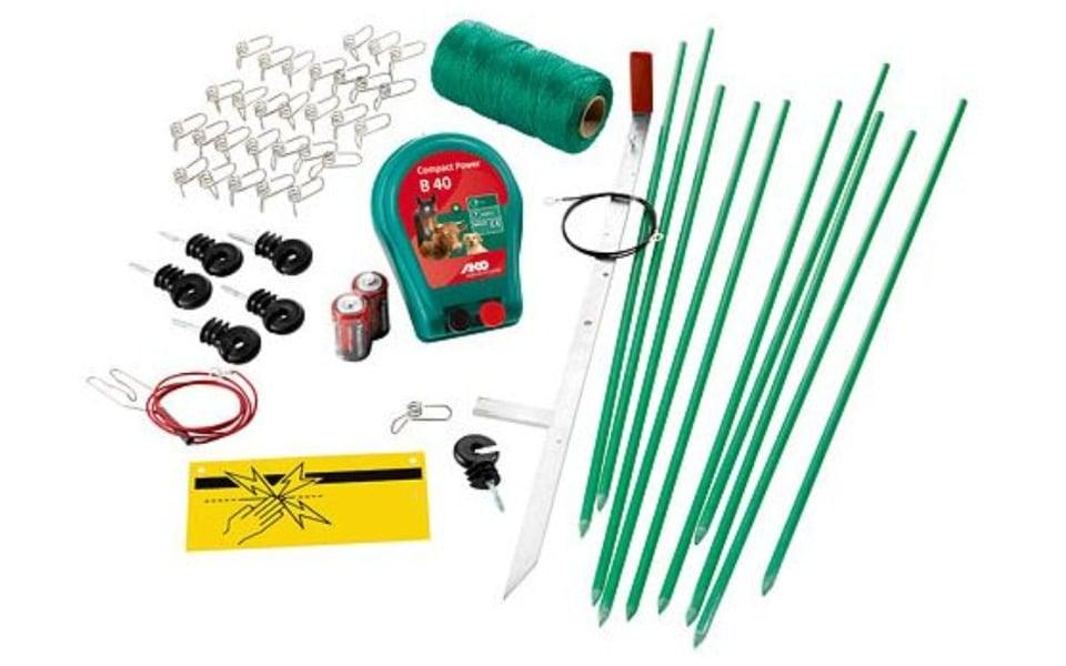 Kit gard electric pentru animale Kerbl.