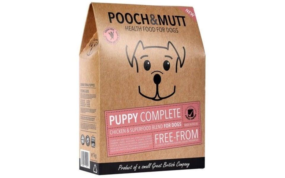 Punga cu mancare pentru caini Pooch & Mutt Puppy.