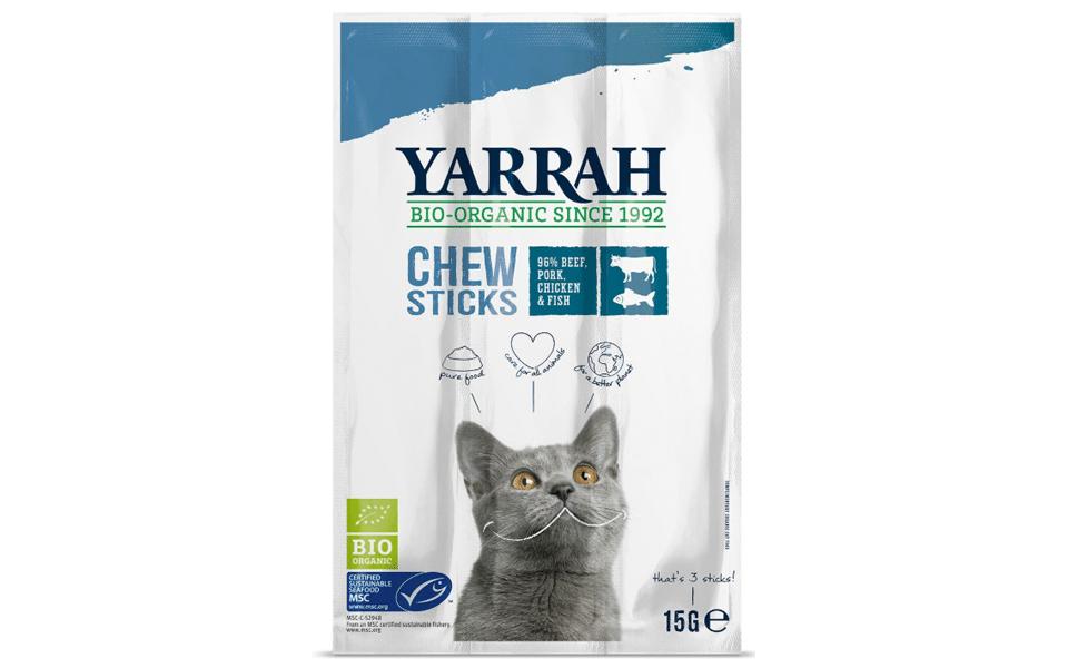 Punga cu recompense pentru pisici Yarrah.