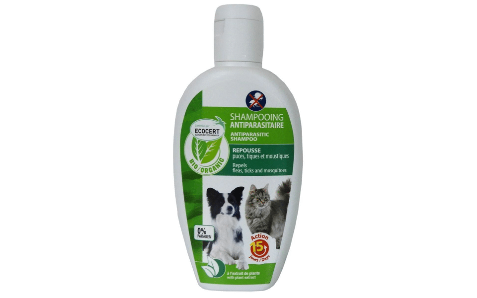 Sampon antipurici pentru pisici si caini.