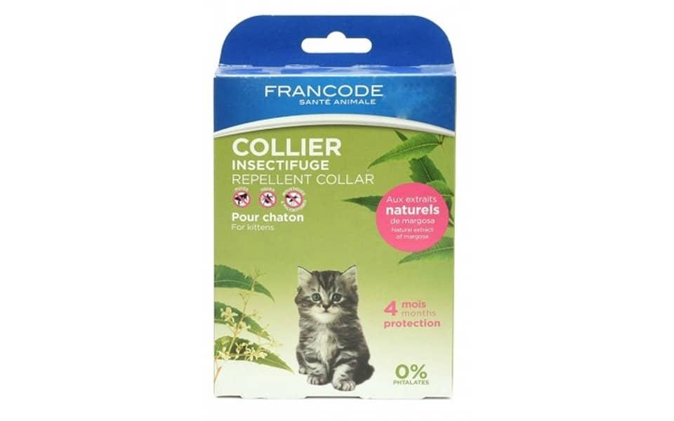Zgarda antiparazitara pentru pisici Fdex Kitten.