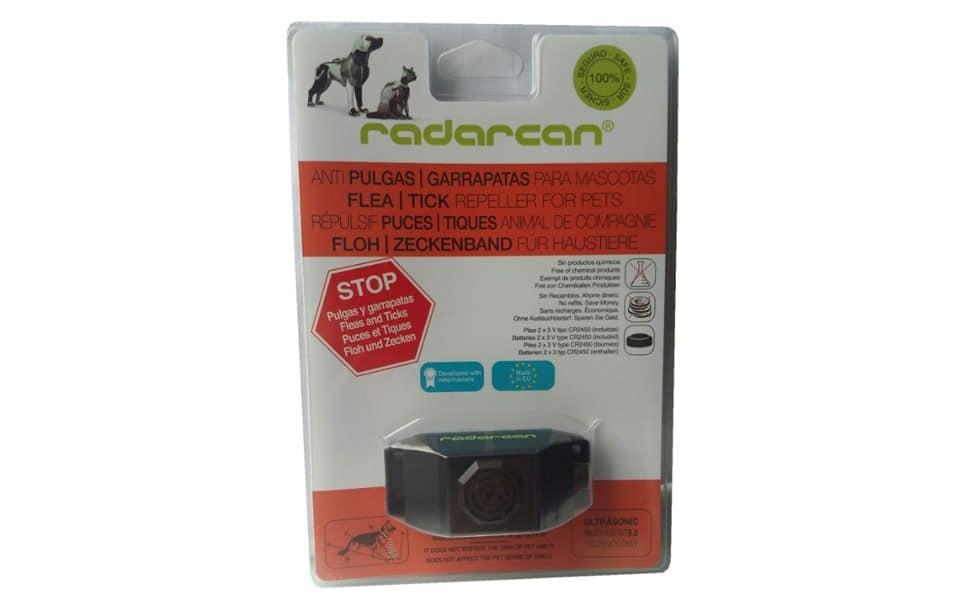 Zgarda antiparazitara pentru pisici Radarcan.