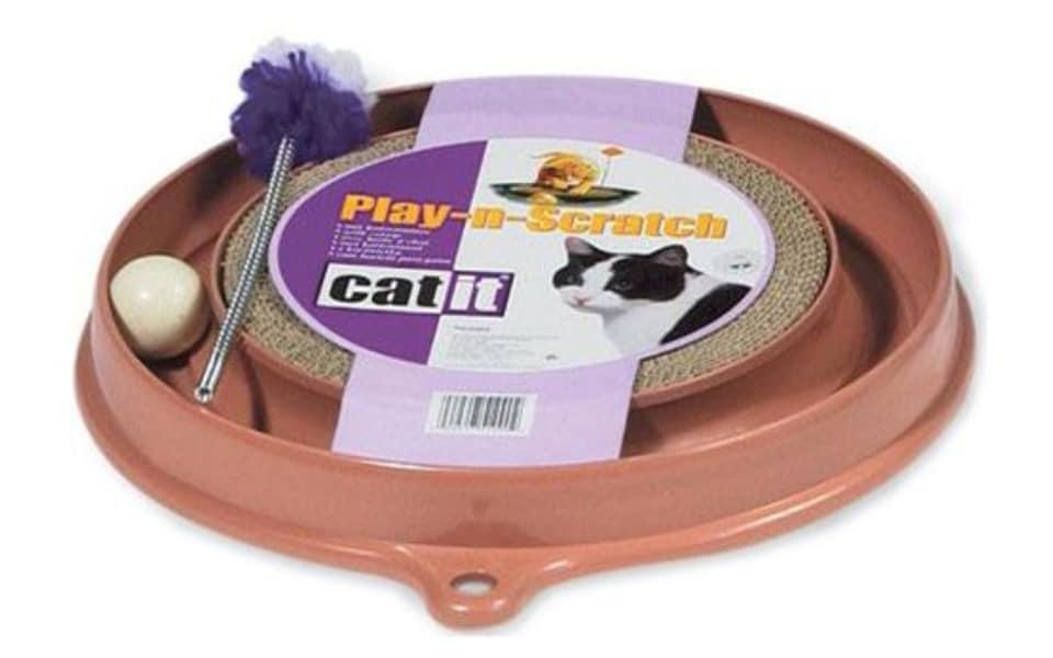 Jucarie interactiva pentru pisici Hagen Play'n Scratch.
