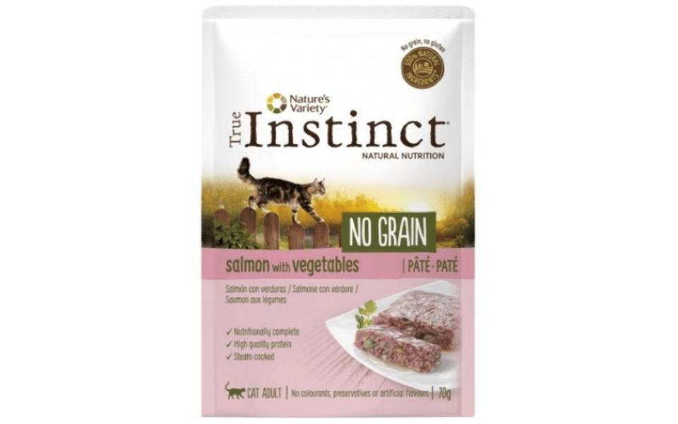 Sac cu mancare pentru pisici True Instinct No Grain.