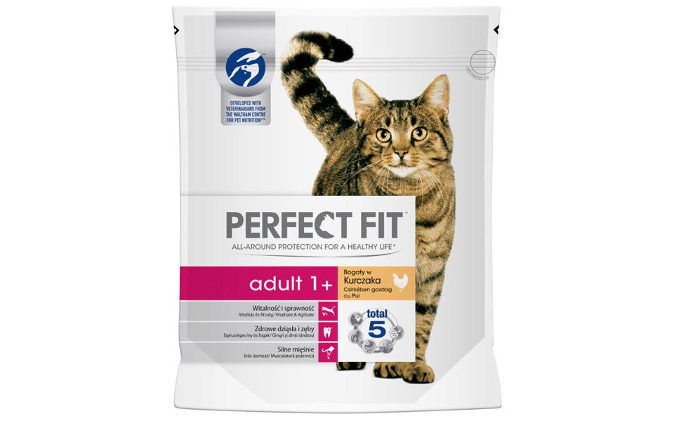 Sac cu mancare pentru pisici Perfect Fit Adult.