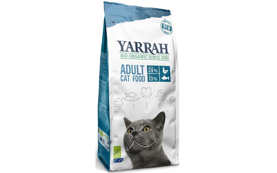 Sac cu mancare pentru pisici Yarrah.