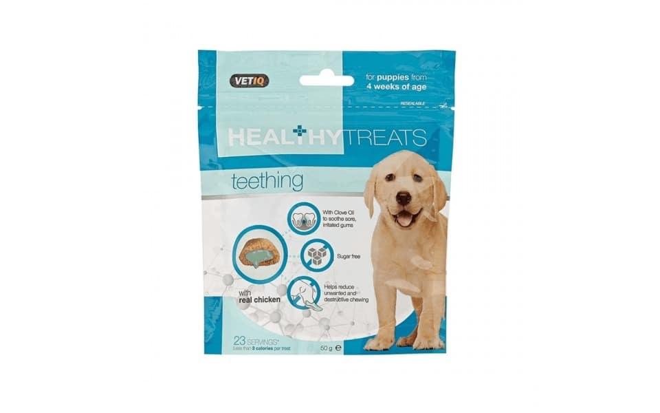 Punga cu recompense pentru caini M&C Snack Puppy Teething.