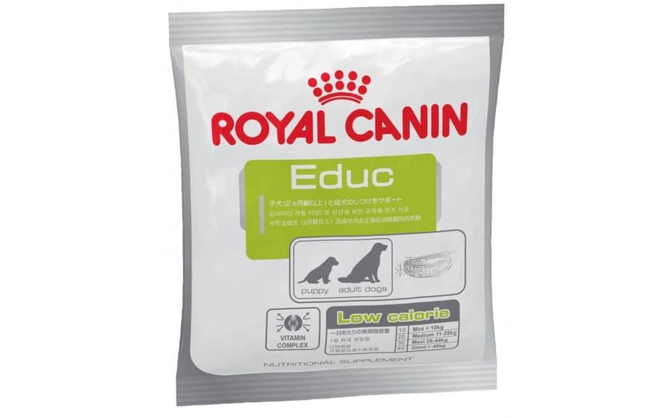 Punga cu recompense pentru caini Royal canin Educ.