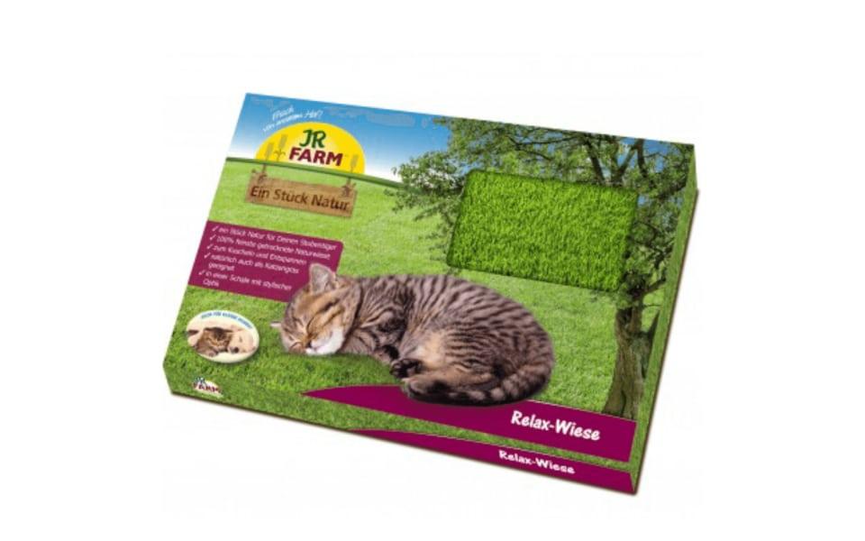Cutie pajiste cu iarba pisicii JR FARM.