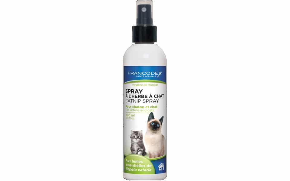 Spray cu iarba pisicii FranCodex.