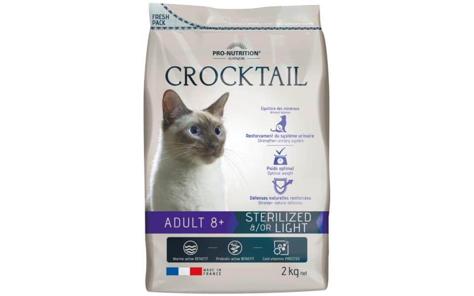 Punga mancare pisici Crocktail Adult 8+.