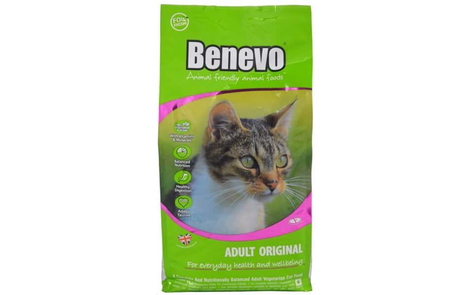 Punga cu mancare pentru pisici Benevo.