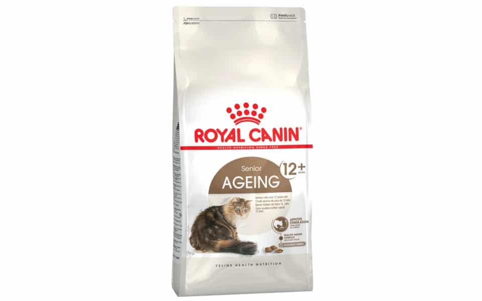 Sac cu mancare pentru pisici Royal Canin Ageing 12+.