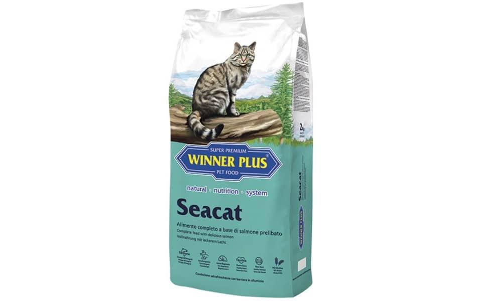 Sac cu mancare pentru pisici Winner Plus SeaCat.