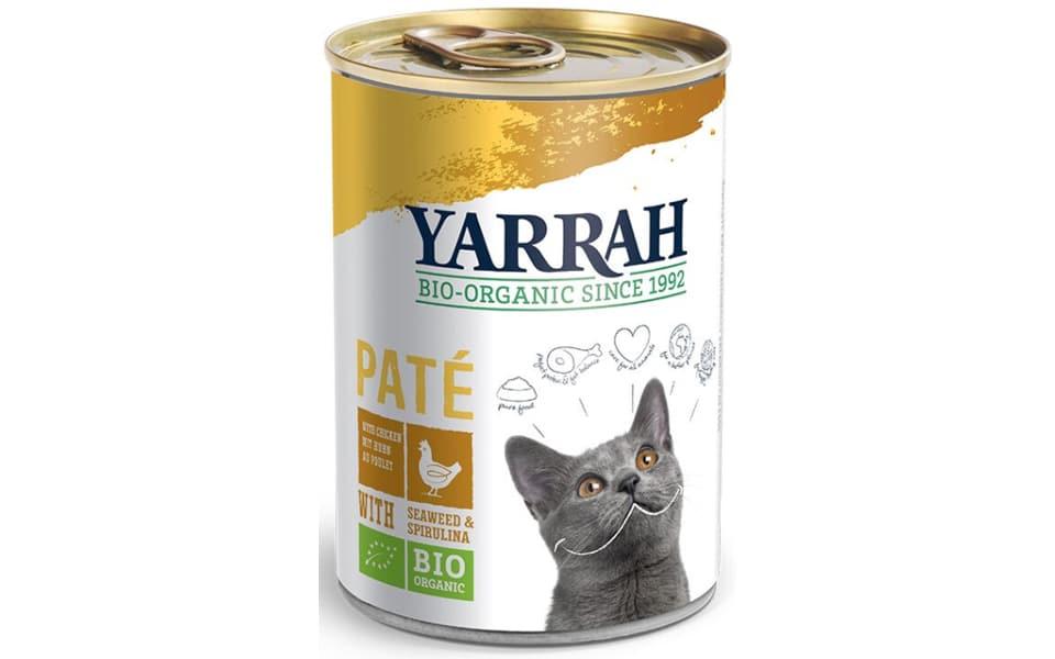 Conserva cu mancare pentru pisici Yarrah.
