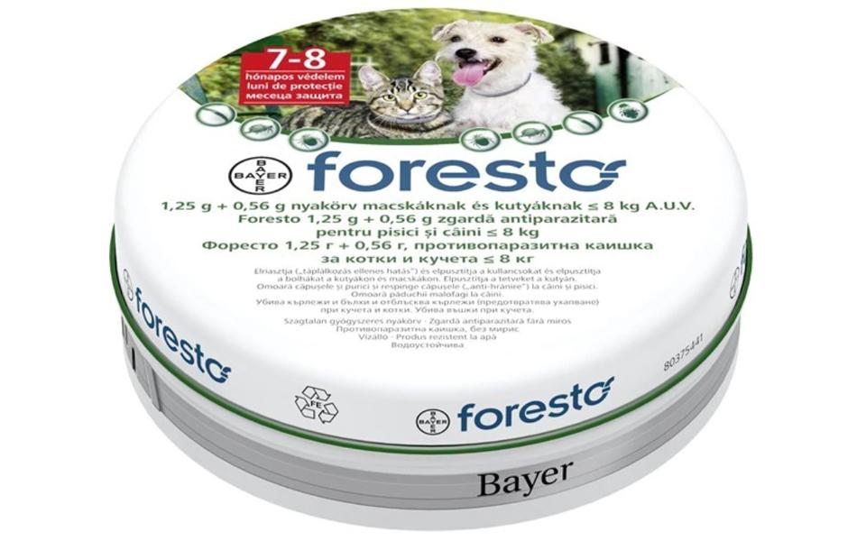 Cutie zgarda pentru pisici Foresto.