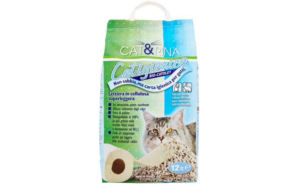 Sac cu nisip pentru litiera Cat & Rina.