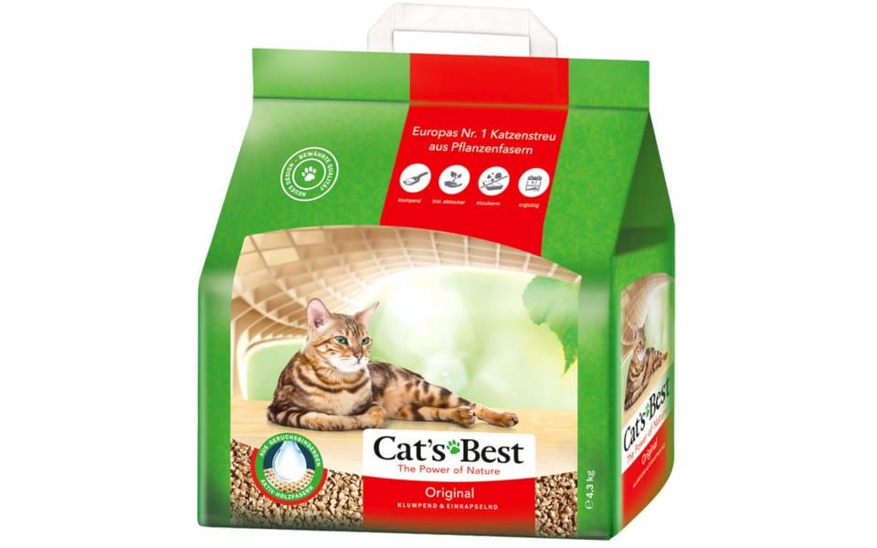Punga cu nisip pentru litiera Cat's Best- Original.